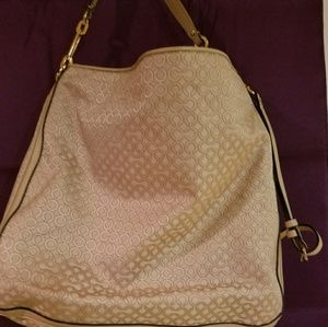 Large Coach shoulder Bag.